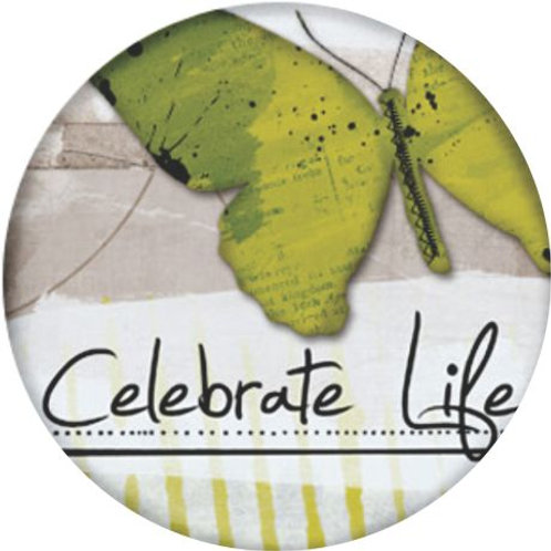 Celebrate life 16 mm earrings