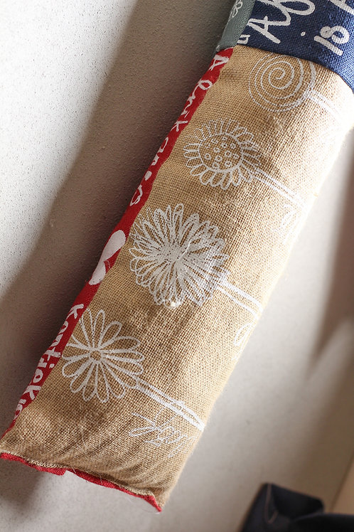 long cushion flower geloof hoop liefde