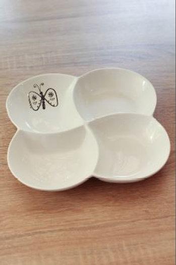 4 devised plate round