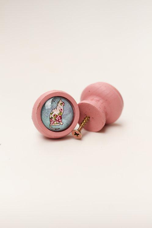 Doorknob Rose Cat