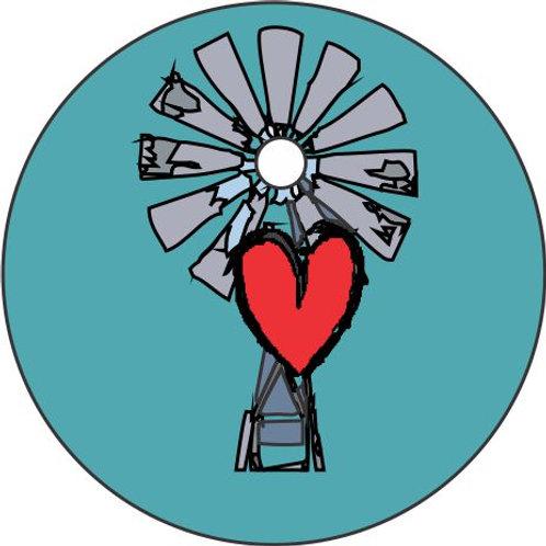 Windmill B Pendant