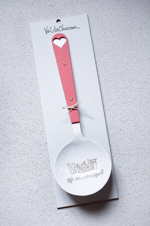 large dish spoon
