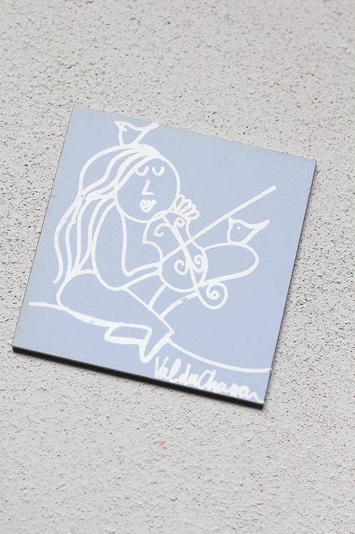 wooden plaque 100x100