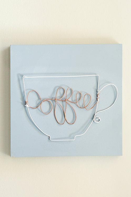 Wire Art Coffee