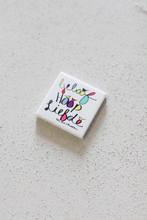 ceramic tile geloof hoop liefde