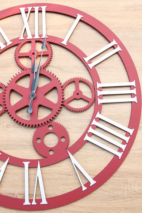 laser Gear Clock