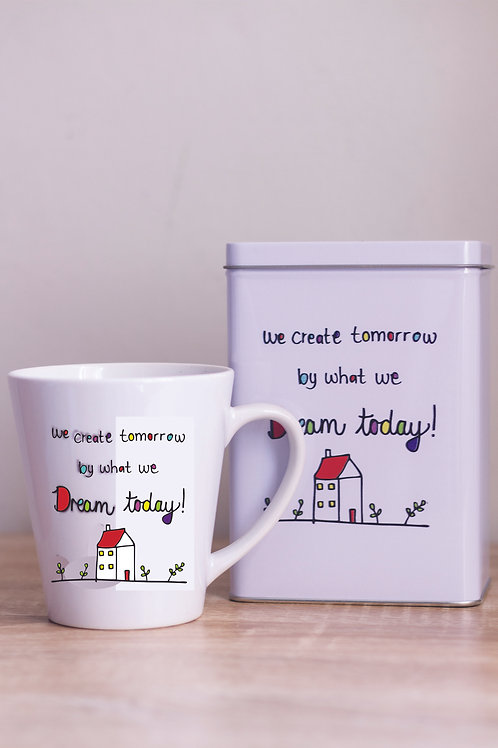 Tin & Mug We create tomorrow