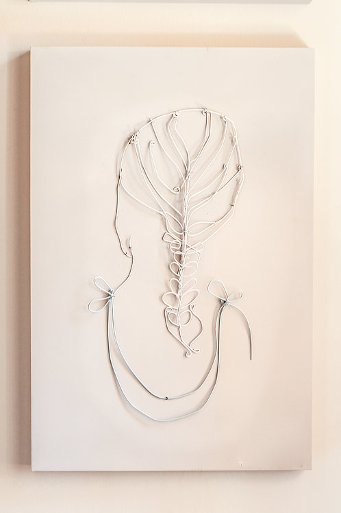 Wire Art Braided Hair