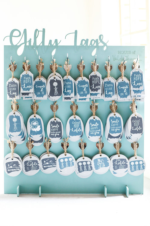 gift tag stand 100TAGS