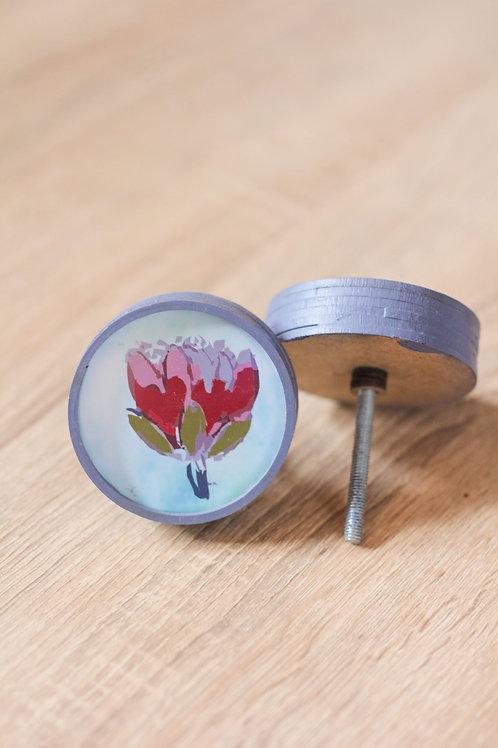 Doorknob Protea printed