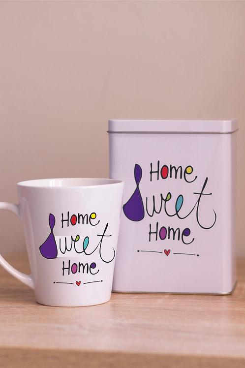 Tin & Mug Home Sweet Home