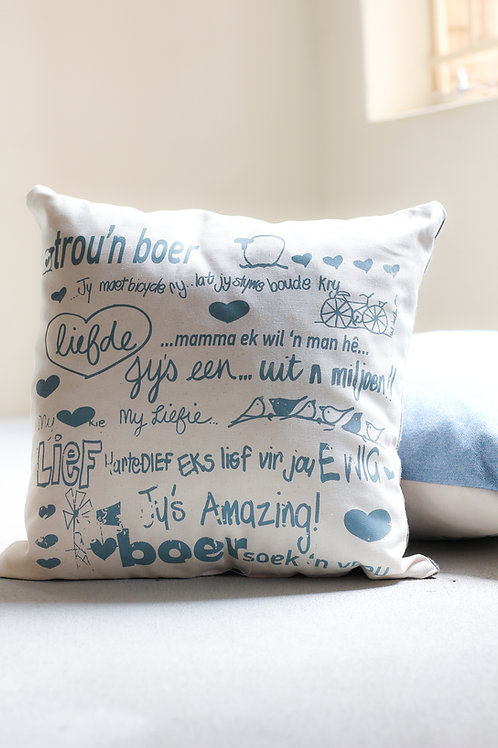 square cushion trou n boer