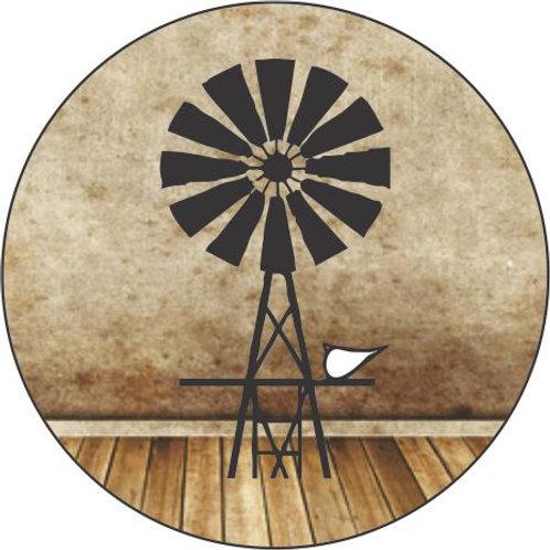 Windmill A keyring