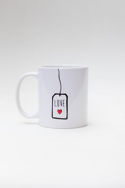 Tea tag Love