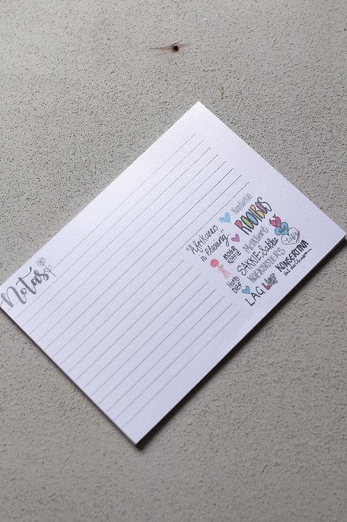 Notepad medium