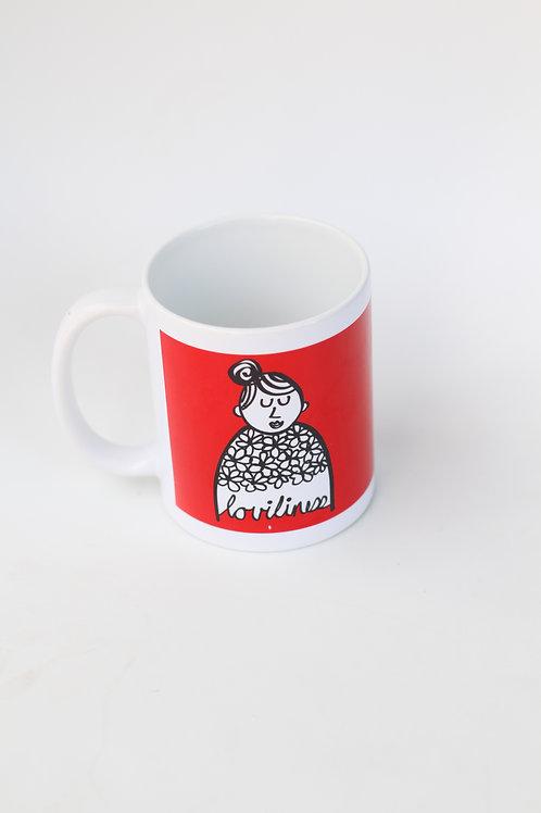 Grandma Red mugg