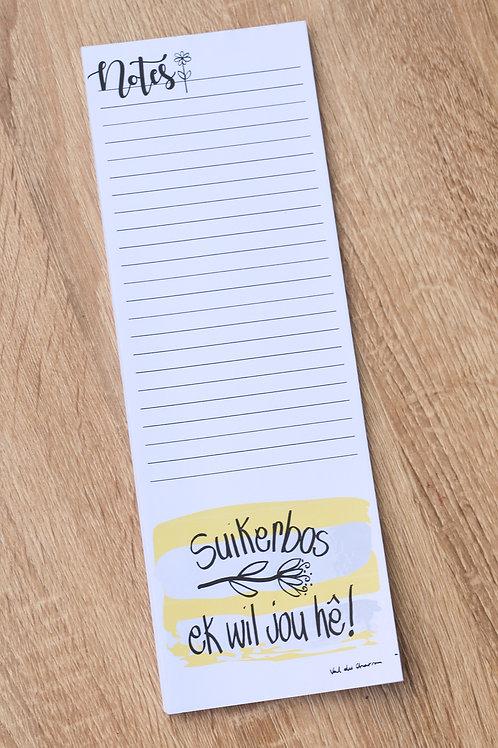 Notepad 100x297
