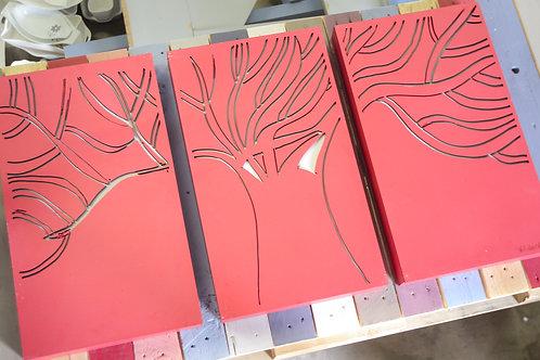 tree 3 part canvas tree of life wall art