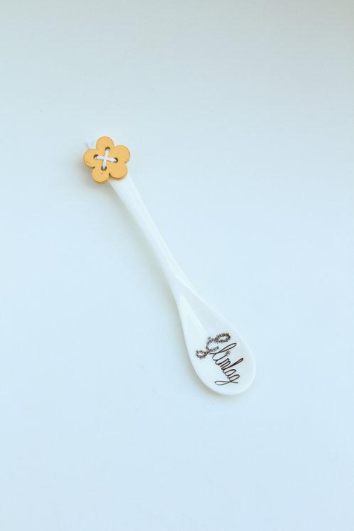 Ceramic Spoon Glimlag