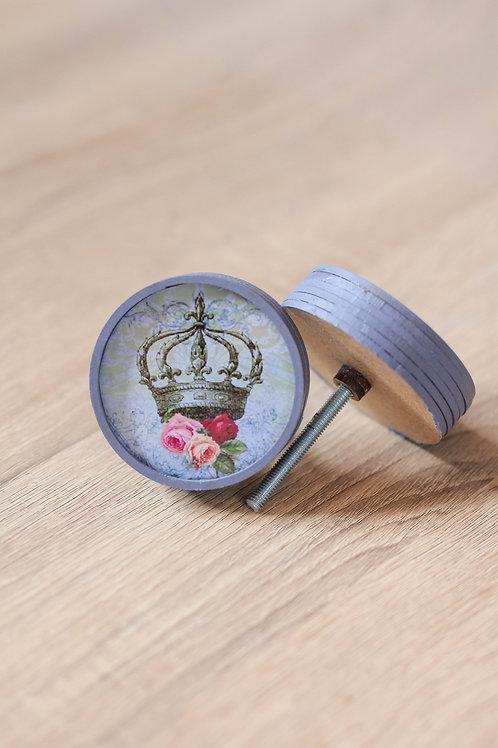 Doorknob crown printed