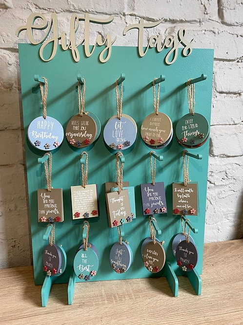 Gift tag stand