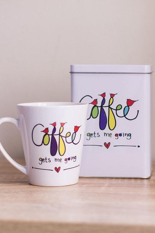 Tin & Mug Coffee gets met going