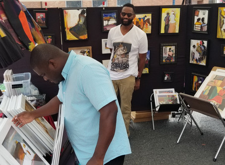 First Sunday Arts kicks off the 2020 season with an Art Market on July 5th