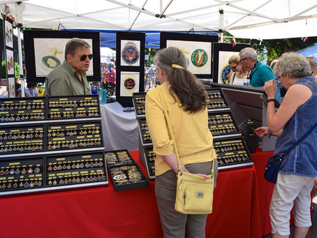 First Sunday Arts Festival Vendors for August 5th
