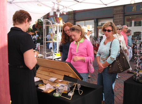 Artisans and Vendors at First Sunday Arts Festival - June 3, 2018