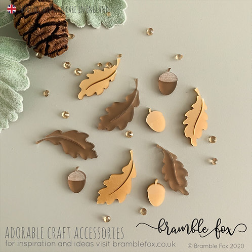 Oak Leaves & Acorns