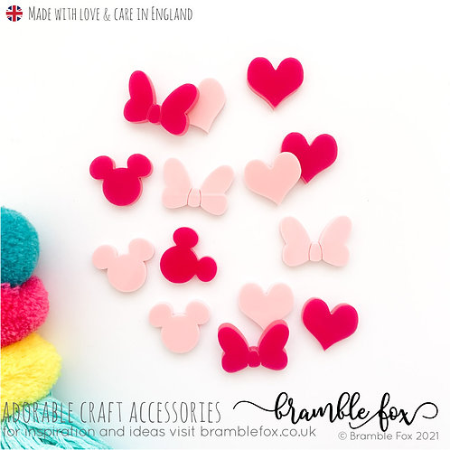 Pink Mouse Accents