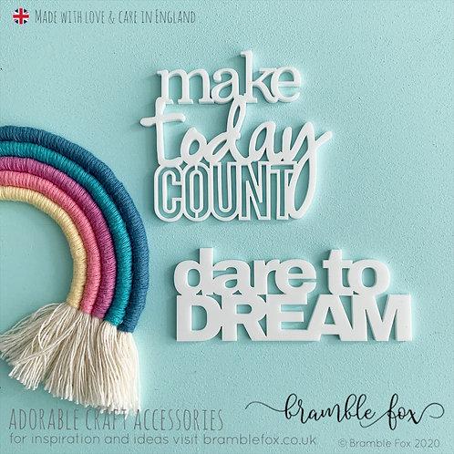 MakeToday Count