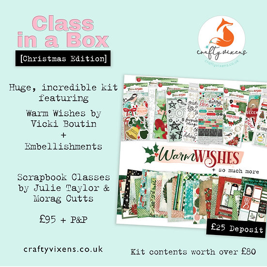 Class in a Box [Christmas] DEPOSIT
