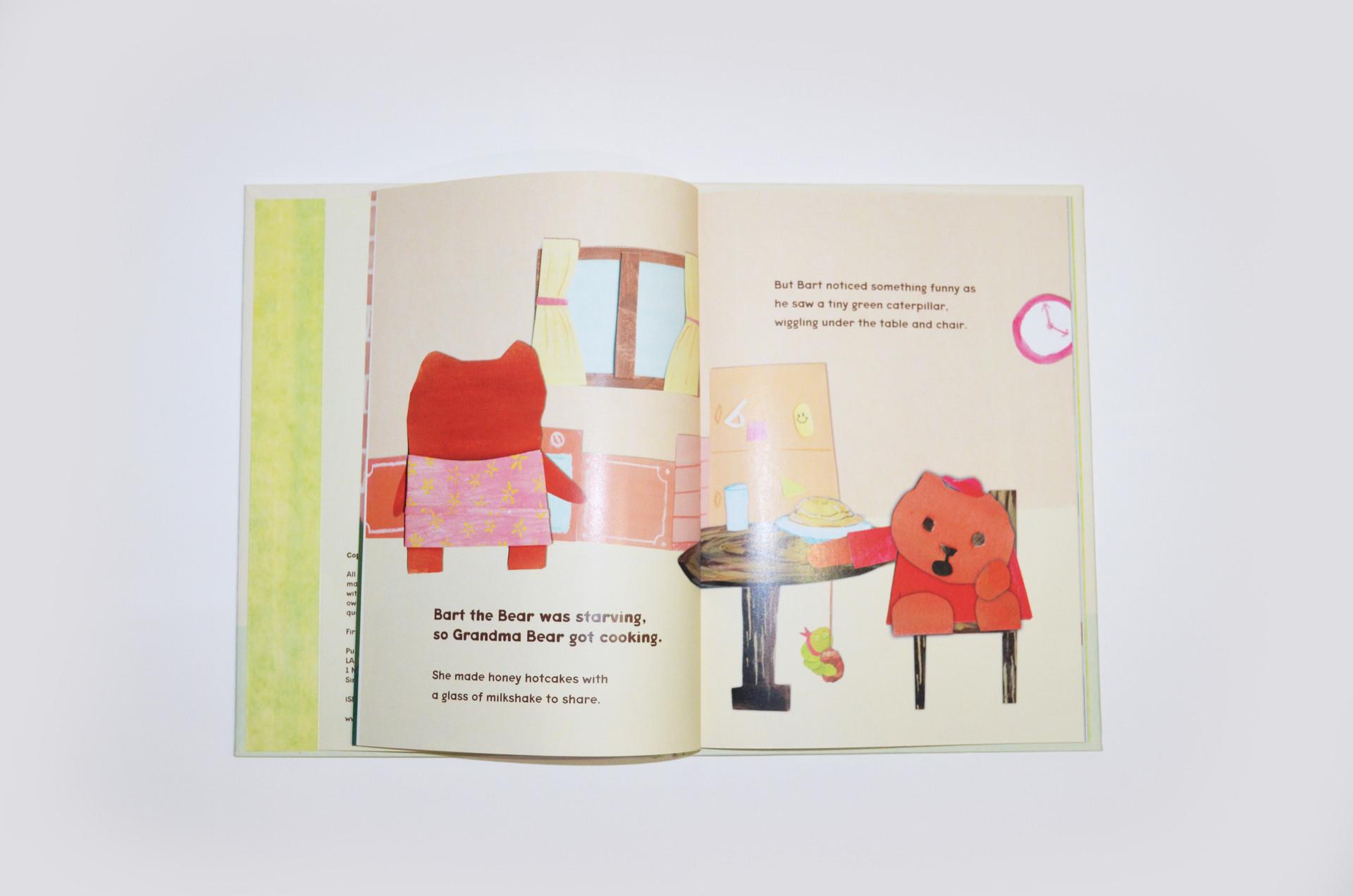 Book 3: Bart the Bear loves Grandma