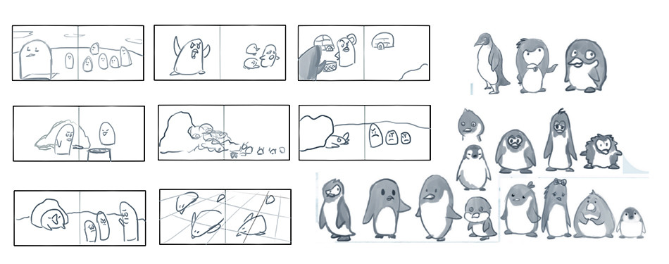 Penguin Storyboard