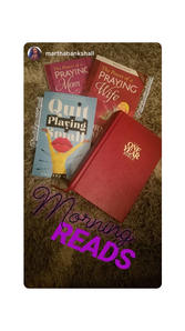 Quit Playing Small Book by Ahyiana Angel