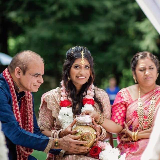 Indian Wedding Hair and Makeup