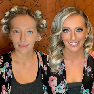 Before and After Bride