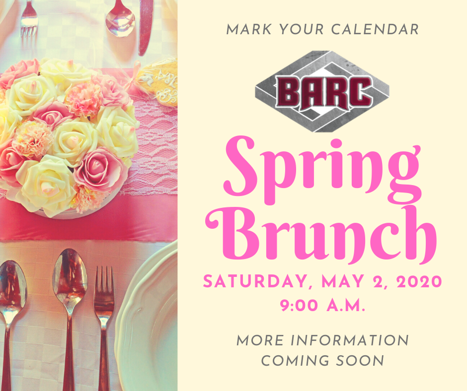 2020 Spring Brunch mark your calendar
