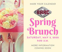 2020 Spring Brunch mark your calendar