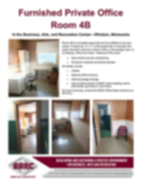 BARC Office suite available for rent 4B.