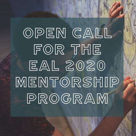 Applications are now open for the 2020 EAL Mentorship Program