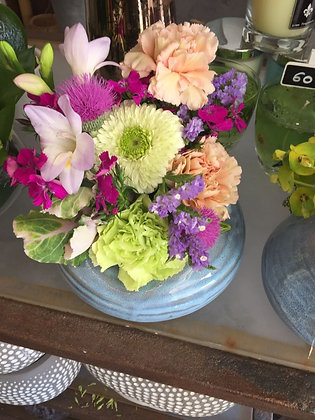 Flowers + vase