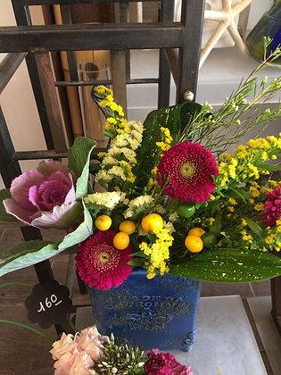 Arrangement + Vase