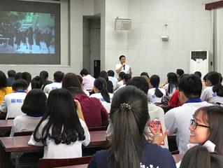 Career talks at Nong Lam & Can Tho University