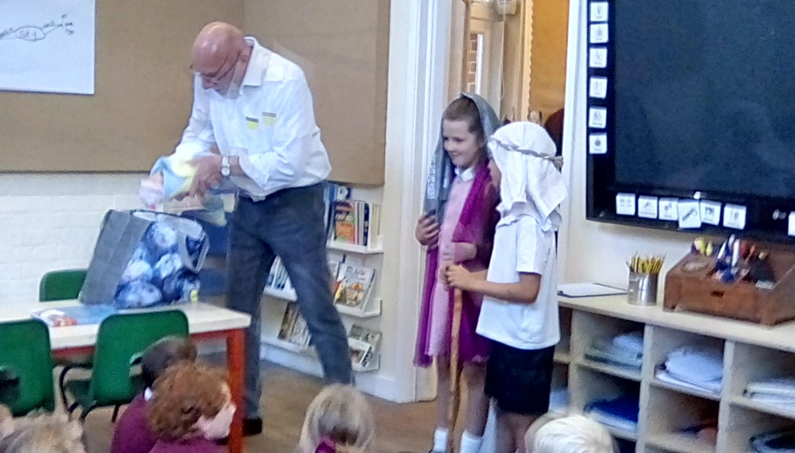 Mr Palmer Visit