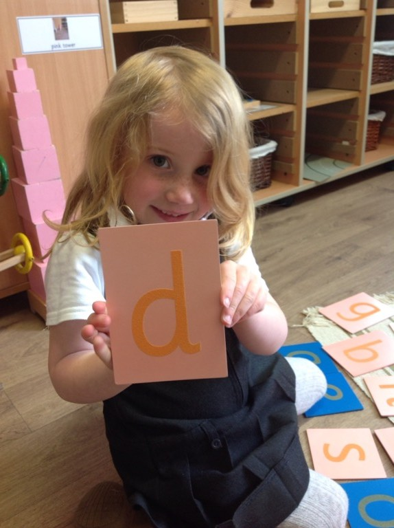 learning to write our letters