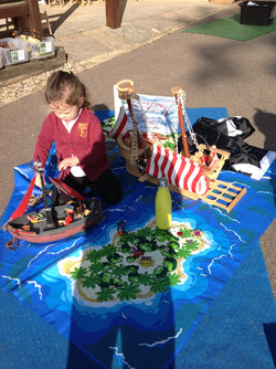 EYFS Pirate day