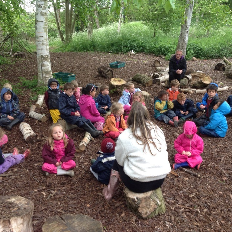 Forest School Mindfulness Moment