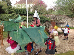 St George's Day Green Dragon